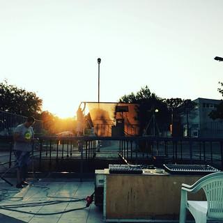 """Questa sera ultima replica di questa meravigliosa stagione. Siamo a Roghudi in provincia di Reggio Calabria con """"La valigia dell'attore"""" #teatrobresci #theatrelife #theaterlife #neverstop"""