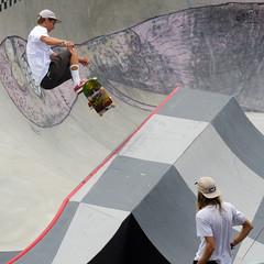 Tristan Rennie (Kevin MG) Tags: usa ca huntingtonbeach orangecounty vans usopen skaters skateboard beach sand ocean sea kids children