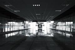 New way (mara.arantes) Tags: monochrome perspective people nikon light architecture hall building