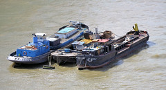 Barges (R~P~M) Tags: boat barge river thames waterway london england uk unitedkingdom greatbritian