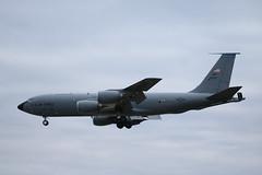 62-3575 KC-135R Mildenhall. (David Cook.) Tags: boeing kc135r kc135 stratotanker militaryaircraft militaryaviation usmilitaryaircraft usmilitaryaviation usaf 6thamw mildenhall rafmildenhall tankers tankeraicraft 91stars