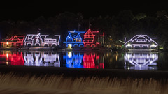 Boathouse Row (Brian E Kushner) Tags: boathouse row schuylkill river philadelphia pa pennsylvania houses color lights rowing nikon d810 nikond810 bkushner brianekushner nikon2470mmf28 2470