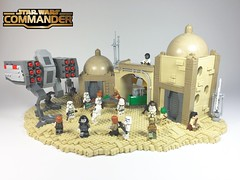 Star Wars Commander: Imperial Agression (Tilde Brick) Tags: lego war stars starwars moc scifi walker atmp tan dome planets