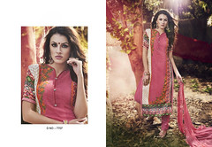 D No. 7707 - Rate 1595/- (Libas B2B) Tags: georgette digital print salwarkameez