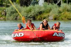 hold on tight! (Sam Scholes) Tags: family reunion tubing fun smile tube snake river idaho rupert smiles sunrise priver ranch familyfun familyreunion snakeriver sunrisepriverranch