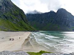 Kvalvika Beach - Lofoten (di maggio antonio) Tags: norway nature capo nord lofoten sami tromso lumix mtf leica 15mm f17 dg summilux asph landscape micro four thirds