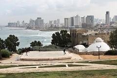 City  Panorama (Esther Spektor - Thanks for 11+ millions views..) Tags: telaviv israel city panorama view sea sky bulidings park architecture shore people distance perspective site platform tree area estherspektor canon