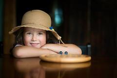 Sofia (Mario Frassine) Tags: daughter natural light portrait cute hat summer apulia salento italy