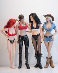 What Skintone Does Mercy Dante Match? (edwicks_toybox) Tags: 16scale grimmuniverse mercydante brunette executivereplicas femaleactionfigure girlswithguns phicen zenescope