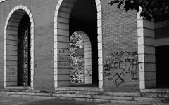 BW 01 (Inushin) Tags: pintadas graffity blanco negro street santurtzi nikon nikond5200 d5200