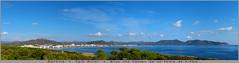Cala Millor (Undertable) Tags: oliverbauer undertable panorama pano spanien mallorca puntadenamer castelldesapuntadenamer santllorencdescardassar sacoma calamillor urlaub meer himmel blau