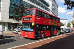 BYD1471, Holborn, London, 20/09/16 (aecregent) Tags: londonbuses2016 holborn london 200916 metroline comfortdelgro byd k8sr mcv evoseti byd1471 lj16ezm 98