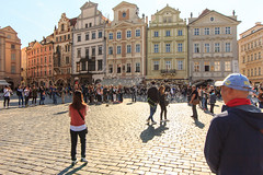 Old Town, Prague (ajayem) Tags: flikr ol prage travel fun girl green photography canon canon60d bubbles