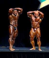 Roelly Winklaar and Branch Warren, Arnold Classic pre-judging (HardieBoys) Tags: arnold australia melbourne victoria bodybuilding bodybuilder culturismo culturista bodybuildingarnold