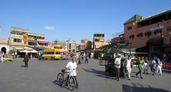 morocco (gerben more) Tags: people square restaurant streetlife streetscene morocco marrakech marrakesh marokko