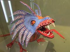 Alebrijes, a tradition of Oaxaca state (sftrajan) Tags: museum méxico mexico folkart traditional yucatan yucatán merida museo alebrije mérida mexicanfolkart 2015 artepopular museodeartepopular artepopularmexicano museodeartepopularmerida