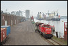 20-03-2015, Amsterdam Westhaven, DBS 6438 + Hbbillns (Koen langs de baan) Tags: amsterdam mokum westhaven dbs cacao bediening 6438 cotterell