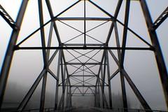 Matanuska River Bridge (Willie Kalfsbeek) Tags: bridge winter mist fog alaska river ak willie matanuska kalfsbeek