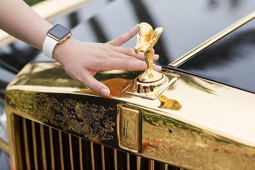 Золотые Apple Watch от Karalux