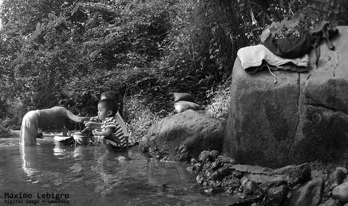 Rio de Pradera del quetzal - guatemala