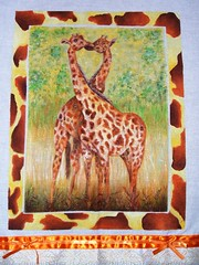 girafa 5 (LID ARTS) Tags: de em prato panos pintura tecido