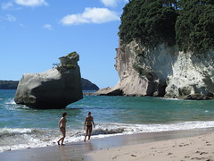 """Cathedral Cove <a style=""""margin-left:10px; font-size:0.8em;"""" href=""""http://www.flickr.com/photos/83080376@N03/16835706940/"""" target=""""_blank"""">@flickr</a>"""