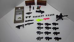 Latest Brickarms Supply Drop from G.I. Brick! (Grimgorr) Tags: lego brickarms gibrick