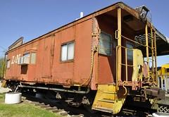 New Haven, Kentucky (3 of 43) (Bob McGilvray Jr.) Tags: railroad museum train kentucky tracks caboose newhaven ln cei kentuckyrailwaymuseum louisvillenashville chicagoeasternillinois