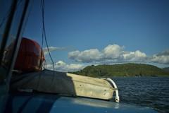 Desde mi barco... (sebastian.aceval) Tags: chile mar barco cielo nubes niebla corral valdivia mancera