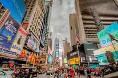 New York, NY, USA (Stewart Leiwakabessy) Tags: city nyc newyorkcity travel vacation usa holiday ny newyork buildings us holidays skyscrapers unitedstates unitedstatesofamerica timessquare saturation highrise traveling bigapple hdr highdynamicrange multiexposure vacationing thebigapple citytrip photomatix bracketed tonemapped murica nyc2015 newyorkcity2015
