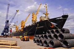 AST Terminal (larry_antwerp) Tags: africa haven port ast ship vessel terminal antwerp states roro schip csal canada line atlanticnyala 8811699
