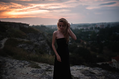 dasha (Eugene Hmur) Tags: sunset girl beautiful nikon sigma sigma35 35mm14 d700