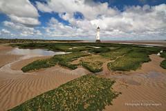 THE BEACH & PERCH ROCK LIGHTHOUSE (dppdi (2003-2016)) Tags: newbrighton thewirral merseyside england uk beach sand rocks perchrocklighthouse coast