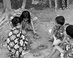 Childhood Memory (delwarFahad) Tags: childhood games girls boy village bangladesh blackandwhite fun enjoy story outdoor