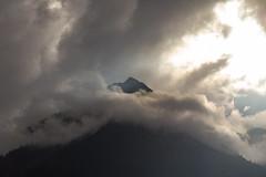 Clouds vs. Mountain (jogi.sch) Tags: mountain outdoor nature montafon austria sun clouds sky storm gallenkirch sankt canon 6d ef24105mmf4lisusm