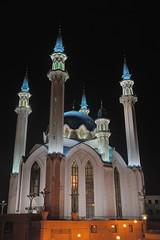 Qul Sharif at night (cantanima) Tags: mosque qul sharif kazan kremlin night