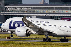 LOT - Boeing 787 (TheSamoloot) Tags: plane airplane flying airport linie aircraft aviation airplanes lot poland polish terminal aeroplane planes warsaw chopin boeing traveling airlines warszawa aerodrome 787 b787 lotnisko samolot polskie pll dreamliner lotnictwo lotnicze boeing787 chopinairport lot787