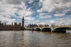 Big Ben and Westminster Bridge, London (LeeHoward) Tags: london bigben westminsterbridge