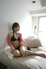 DSC02043 (mimo-momo) Tags: japanese crossdressing bikini transvestite crossdresser crossdress swimwear