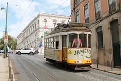 Calada da Estrela (ernstkers) Tags: 543 bonde carris ccfl ccfl543 lisboa portugal streetcar tram tramvia tranvia trolley sparvagn elctrico strasenbahn sprvagn