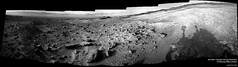 Sol 1405 - Curiosity - Navcam Panorama of Pahrump Hills at Sunset (13ericralph31) Tags: mars curiosity pahrump hills 1405 sol nasa jpl