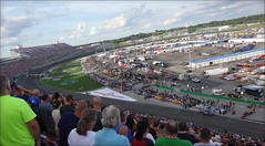 NASCAR Quaker State 400 - Kentucky Speedway - 7/9/2016 (rbatina) Tags: rubbertoe nascar sprint cup race kentucky speedway ky track sparta day stock car racing outside outdoors july 9 9th 2016 792016 quaker state 400 auto racecar series pit road garage access pass hot summer crowd group fans people men women