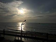 Sunrise Click by iPhone 6s On 24th July at 06:30AM...  Beach Road, White Town, Puducherry, Puducherry, India (aboubakerm) Tags: puducherry pondicherry pudhuvaiindia