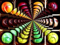bonbons forever (HansHolt) Tags: chocolates bonbons chocola forever eindeloos yummy delicious lekker sweet chocolatier canonica geneva suisse switzerland zwitserland gift present box doosje vanishingpoint verdwijnpunt perspective perspectief feedback herhaling canoneos6d canonef24105mmf4lisusm