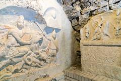 Mithrum Fertrkos, 3. Jahrhundert (Anita Pravits) Tags: cautes fertrkos hungary kroisbach kultsttte magyarorszg mithra mithraism mithraismus mithras mithrasgrotte mithraskult mithrastempel mithraszszently mithrum mitra mythraicmysteries mrbisch relief romanempire rmischesreich sanctuaryofmithras stierttung tauroktonie tempel ungarn mithraeum shrine