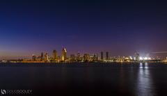 San Diego Skyline (dougsooley) Tags: city longexposure skyline night canon sandiego cityscapes skylines nighttime nightsky citynight longexposures sandiegoskyline canonlenses canonlens canon1dx dougsooley