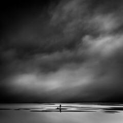 Alone (vulture labs) Tags: art photography iceland fine