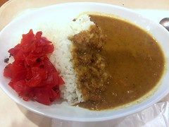 Chicken curry from Self Rich @ Roppongi (Fuyuhiko) Tags: chicken curry from self rich roppongi       selfridge cafe  tokyo