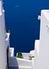 The Ocean Blue... (Emm Ess) Tags: blue sea white island sony aegean santorini greece thira fira minoltaamount slta55v sal55300