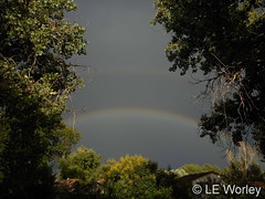 July 18, 2016 - Fantastic rainbow in Thornton. (LE Worley)
